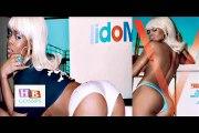Rihanna Goes-Topless-In V Magazine 2015