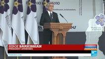"""Centenaire du génocide arménien - Serge Sarkissian : """"Le peuple arménien restera toujours debout"""""""