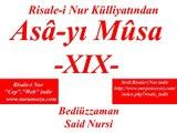 """Asa-yı Musa -XIX- """"Risale-i Nur Külliyatı"""" """"Bediüzzaman Said Nursi"""""""