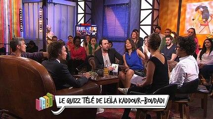 Le quizz télé de Leïla Kaddour-Boudadi du 26 avril