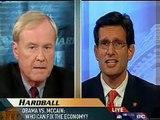 Chris Matthews Slams McCain Surrogate Cantor Hardball