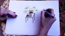 ✎ Draw my life ✎ История моей жизни | Мои секреты ♡ Правда о моей работе и учебе ♡
