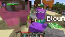 Pat and Jen Minecraft  ROBOT ALIEN CREEPER CHALLENGE GAMES   Lucky Block Mod   Modded Mini Game