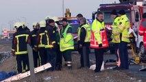 Scheemda - 16-jarig meisje overleden na ernstig ongeval A7