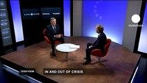 euronews interview - Antonio Tajani on SMEs, strategy and new economy