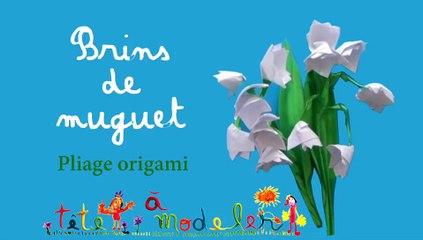 origami muguet