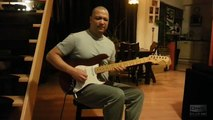 Somebody to love Queen guitar solo cover normal & slow speed