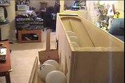 Homemade Table Tennis Ping Pong Robot