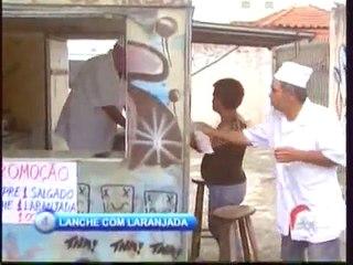 Lanche com Laranjada   Pegadinha com Ivo Holanda   Programa Silvio Santos