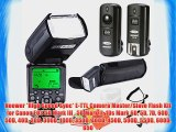 Neewer *High Speed Sync* E-TTL Camera Master/Slave Flash Kit for Canon EOS 5D Mark III  5D
