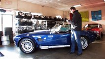 1965 Shelby Cobra for sale with test drive, driving sounds, and walk through video