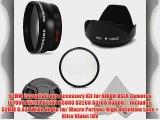 52MM Essential Lens Accessory Kit for NIKON DSLR Cameras (D7000 D5200 D5100 D5000 D3200 D3100