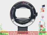 T Tocas? Newest Version Electronic Auto Focus EF-NEX EF-EMOUNT FX Lens Mount Adapter for Canon