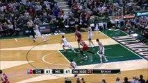 Giannis Antetokounmpo And-One _ Bulls vs Bucks _ Game 3 _ April 23, 2015 _ 2015 NBA Playoffs