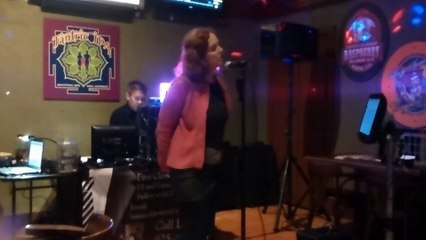 "Sherry Singing ""Crazy"" by Patsy Cline At Downtown Joe's Brewery - Napa, CA"
