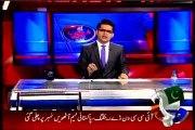 Geo News Aaj Shahzaib Khanzada Ke Saath with MQM Haidar Abbas Rizvi (22 April 2015)