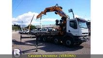 camion renault kerax 420 con gru effer 1050/8s jib 4S