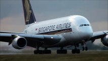 Paris CDG close-up landings - Boeing 777, B767, B757, Airbus A380, A340, A330, A310 ( HD )