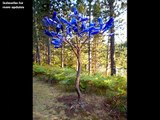 Creative Ideas With Bottle Tree Designs -creative ideas for home decor- how to decorate tree from bottles