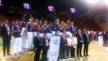 Marseillaise pour les Bleues championnes du Monde de basket