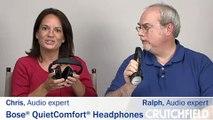 Bose QuietComfort Noise-Canceling Headphones   Crutchfield Video