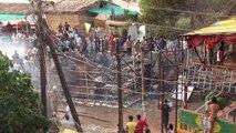 burning burning burning  Arambol, Goa is not forgotten