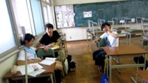 Tour around my Japanese Highschool, 2014 student exchange japan