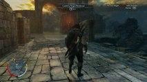 Tierra Media Sombras de Mordor, gameplay parte 9, Festin de Blorg el parte rocas