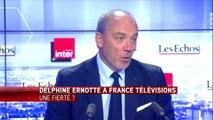 """Stéphane Richard, PDG d'Orange: """"Dire qu'on peut continuer à baisser les tarifs, c'est une folie""""."""