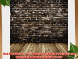 Pied Brick Wall 10' x 10' CP Backdrop Computer Printed Scenic Background GladsBuy Backdrop