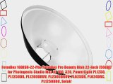 Fotodiox 10DISH-22-Pho Fotodiox Pro Beauty Dish 22-Inch (56CM) for Photogenic Studio Max III