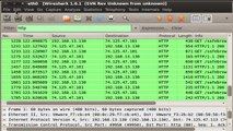 Sniffing Passwords over the network with Wireshark