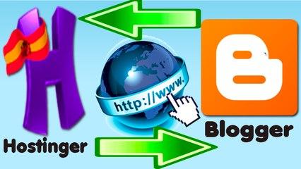 Vincula tu dominio comprado de Hostinger  con #Blogger