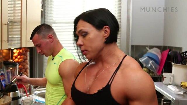The Female Bodybuilding Blended Chicken Shake FUEL