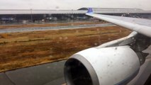 Atterrissage Osaka Kansai Aircalin A330-200