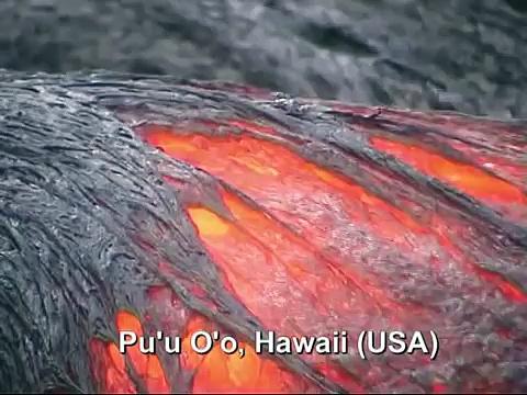Volcanoes around the world