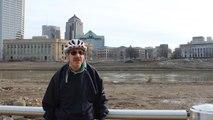 Scioto River Construction - April 2015 - Columbus Ohio
