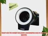 YONGNUO WJ-60 Macro Photography Ring LED Light For Canon  Nikon  samsung  Olympus  JVC  Pentax