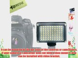 YONGNUO YN-0906 54 LED Camera Video Light For Canon  Nikon  samsung  Olympus  JVC  Pentax cameras