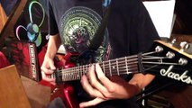 Slipknot Sarcastrophe Guitar Cover HD - (Guitar Only) PLUS LESSON!! Tristan Wilson