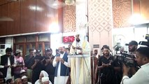 امام کعبہ کی مصورہ آمد اور خطاب - Imam Kaabah Mansoorah Main !_2