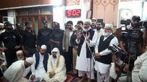 امام کعبہ کی مصورہ آمد اور خطاب - Imam Kaabah Mansoorah Main !