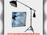 StudioFX 400W Continuous Lighting Hairlight Boom Stand Set Weight Bag Kit / Includes 85watt