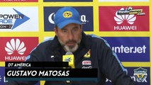 Los abucheos son para mí: Gustavo Matosas