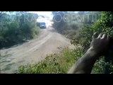 La spectaculaire sortie de route de David Nalbandian au Rallye d'Argentine
