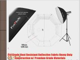 Fotodiox Pro 36 Octagon Softbox for Studio Strobe/Flash with Soft Diffuser and Universal Speedring