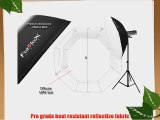Fotodiox 48 Octagon Softbox with Soft Diffuser and Speedring Bracket for Nikon Flash SB-910