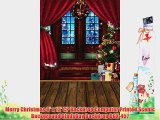 Merry Christmas 8' x 12' CP Backdrop Computer Printed Scenic Background GladsBuy Backdrop DGX-457