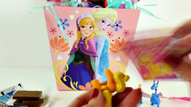 Play Doh Disney Frozen Minnie Mouse Peppa Pig Kinder Surprise Eggs Shopkins Princess MLP Kids Toys