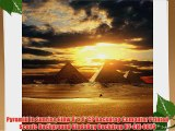 Pyramid In Sunrise Glow 8' x 8' CP Backdrop Computer Printed Scenic Background GladsBuy Backdrop